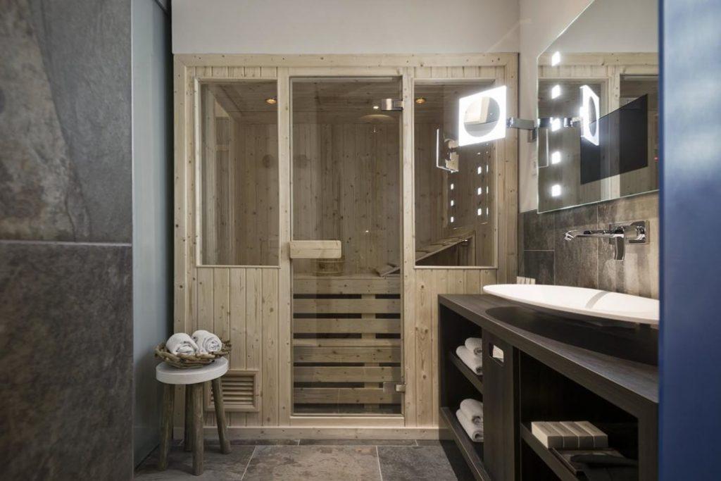 Mainport Rotterdam Waterfront Spa Kamer met privé sauna