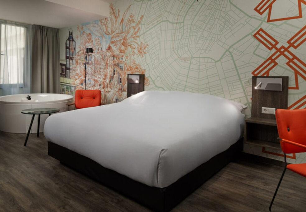 Inntel Hotels Amsterdam Centre Wellness Kamer