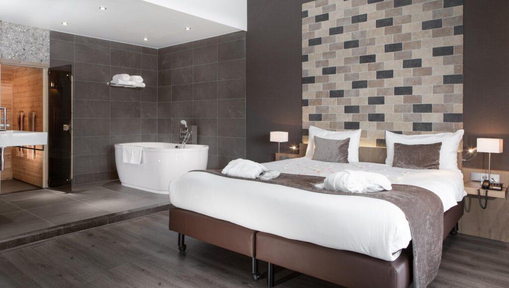 Van der Valk Breukelen Wellness Suite met sauna en jacuzzi