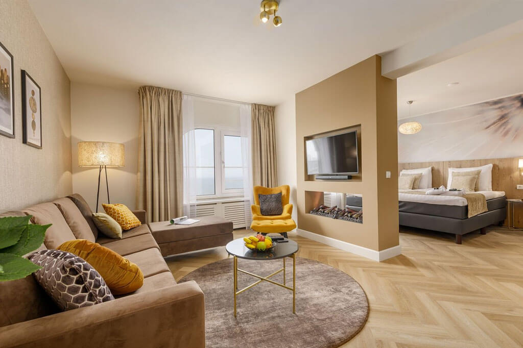 center-parcs-zandvoort-wellness-hotelsuite-zithoek-sfeerhaard